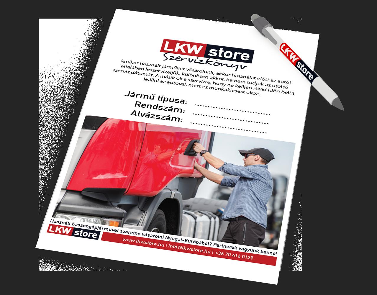 LKW Store - új és használt haszongépjármű lízing